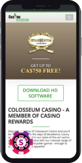 Colosseum Casino Mobile