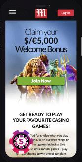 Mansion Casino Mobile