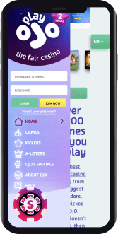 Playojo Casino Mobile