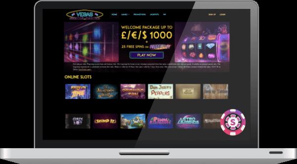 Vegas Mobile Casino Games