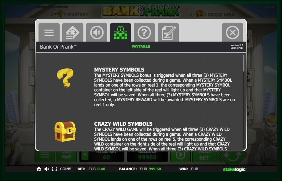 Spiele Bank Or Prank - Video Slots Online