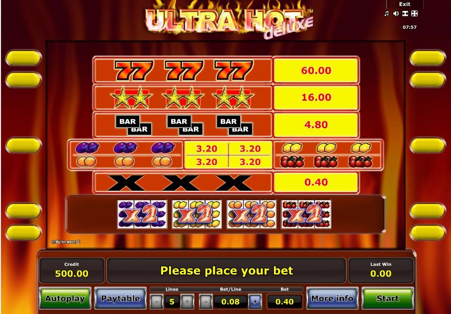 Slot Machine Ultra Hot