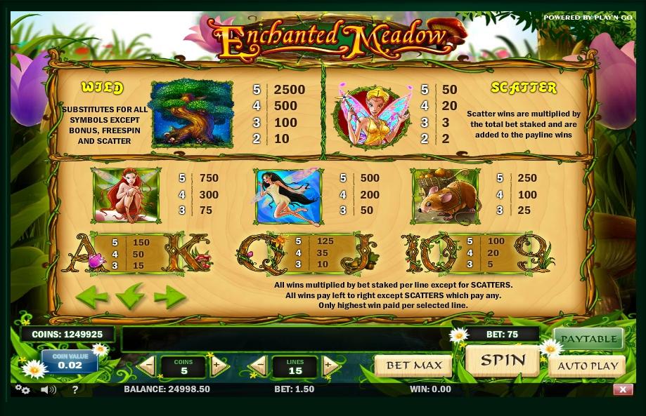 Spiele Enchanted Meadow - Video Slots Online