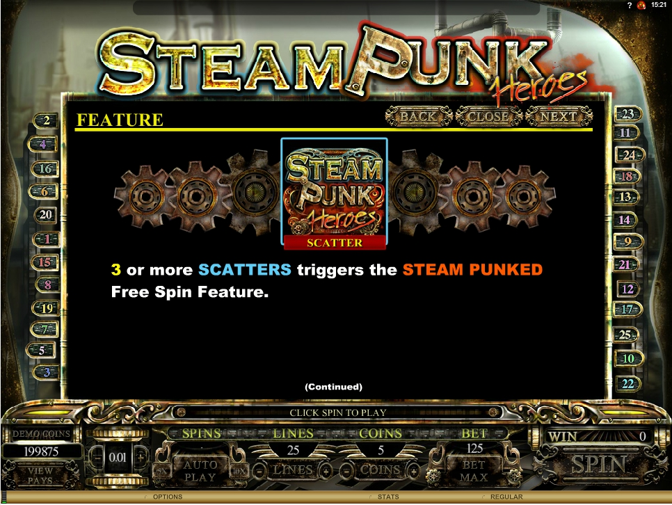Play Steam Punk Heroes Slot Machine Free With No Download
