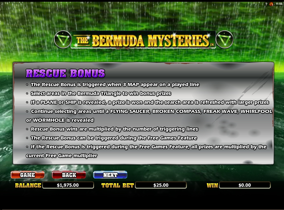 Spiele The Bermuda Mysteries - Video Slots Online