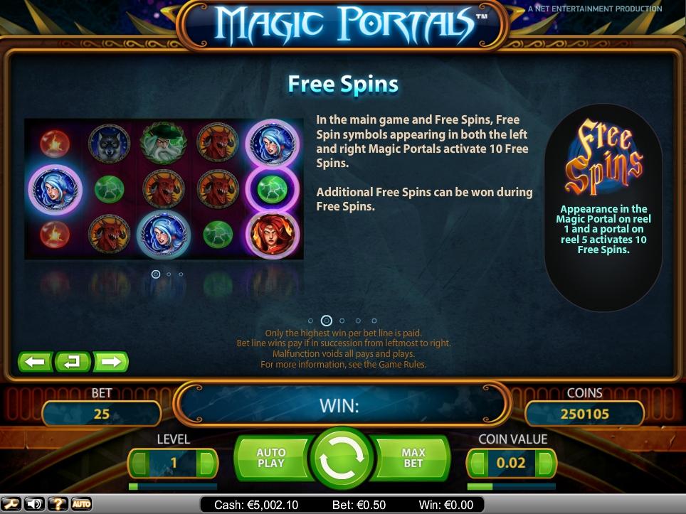 Magic Portals Slot Machine