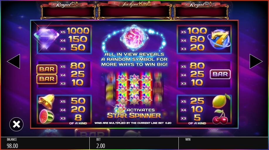 Star Spinner Slot Machine