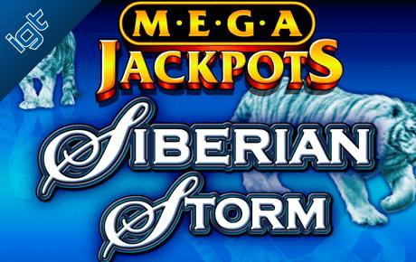 Megajackpots Siberian Storm Igt