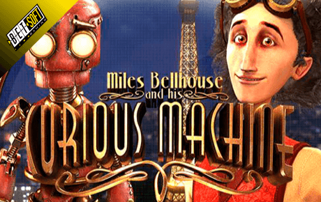 Miles Bellhouse And Curious Machine Slot Betsoft