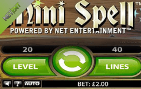 Mini Spell Netent