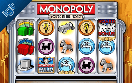 Monopoly Youre In The Money Igt Wagerworks