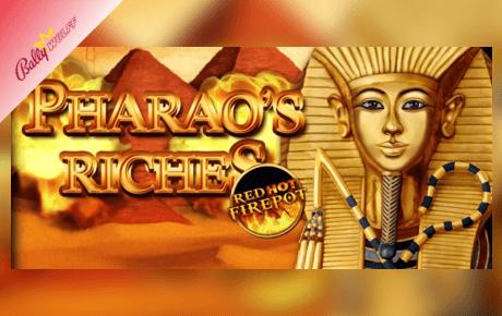 Pharaos Riches Red Hot Firepot Bally Wulff
