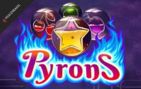 Pyrons Slot Yggdrasil Gaming