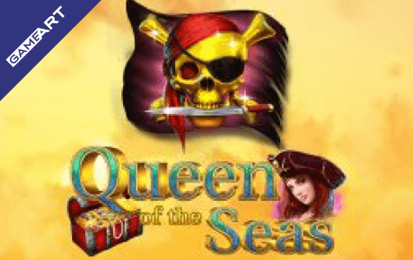Queen Of The Seas Slot Gameart