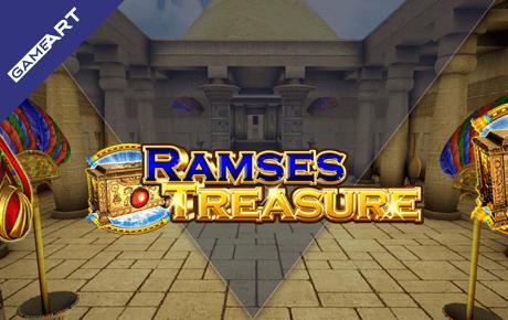 Ramses Treasure Slot Gameart