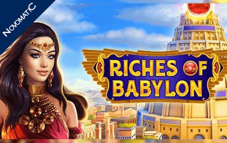 Riches Of Babylon Novomatic