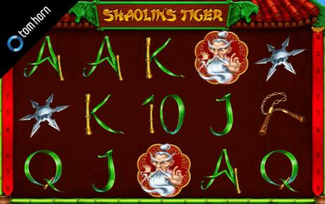 Shaolins Tiger Tom Horn Gaming