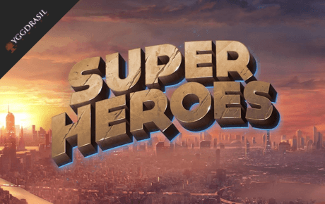Super Heroes Slot Yggdrasil Gaming