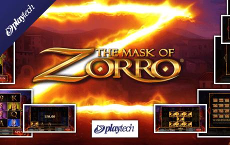 The Mask Of Zorro Playtech