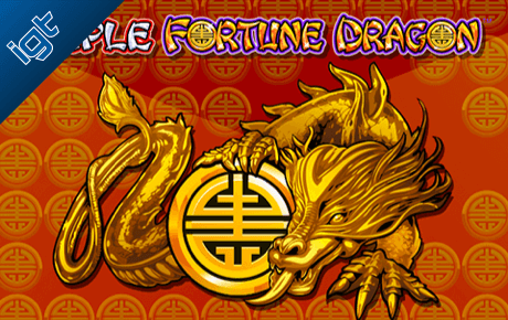 Triple Fortune Dragon Igt Wagerworks