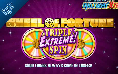 Wheel Of Fortune Triple Extreme Spin Igt