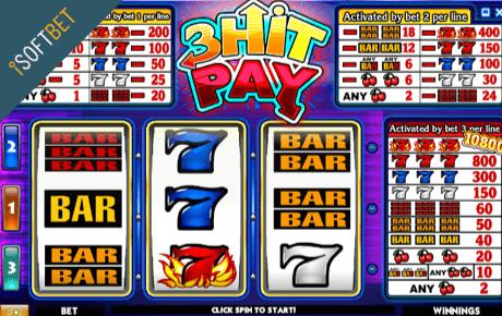 3 Hit Pay Isoftbet