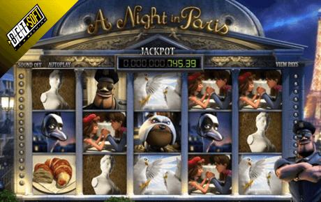 A Night In Paris Jackpot Betsoft