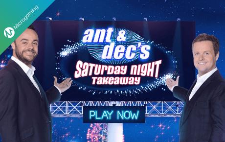 Ant And Decs Saturday Night Takeaway Microgaming