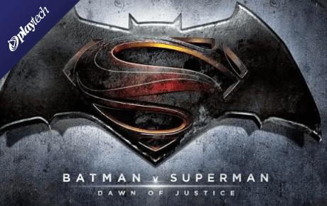 Batman V Superman Dawn Of Justice Playtech
