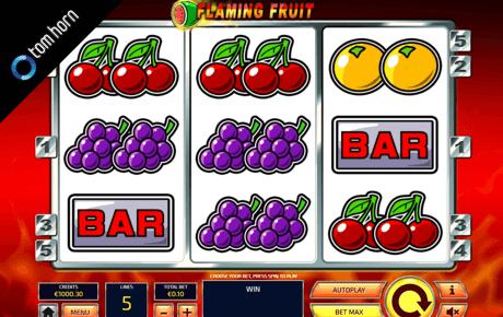 Flaming Fruit Tom Horn Gaming