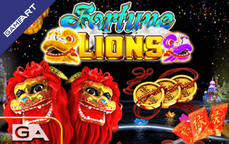 Fortune Lions Gameart