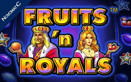 Fruitsn Royals Novomatic