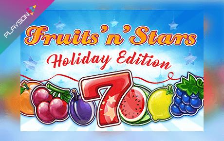 Fruitsnstars Holiday Edition Playson