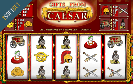 Gifts From Caesar Isoftbet