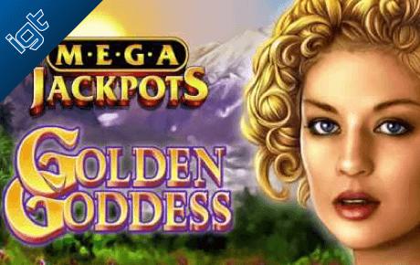 Golden Goddess Mega Jackpots Igt