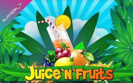 Juice And Fruits Playson