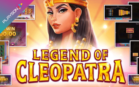 Legend Of Cleopatra Playson