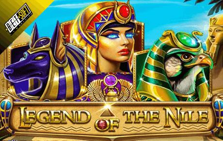 Legent Of The Nile Betsoft Slot Gamel Logo